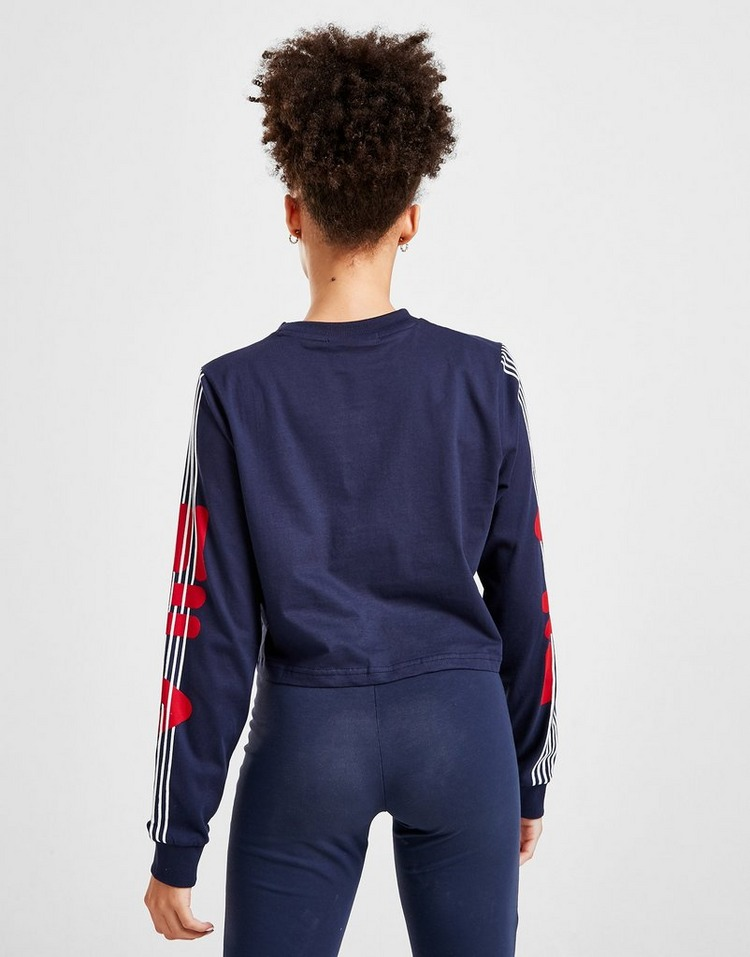 Fila Stripe Long Sleeve T-Shirt