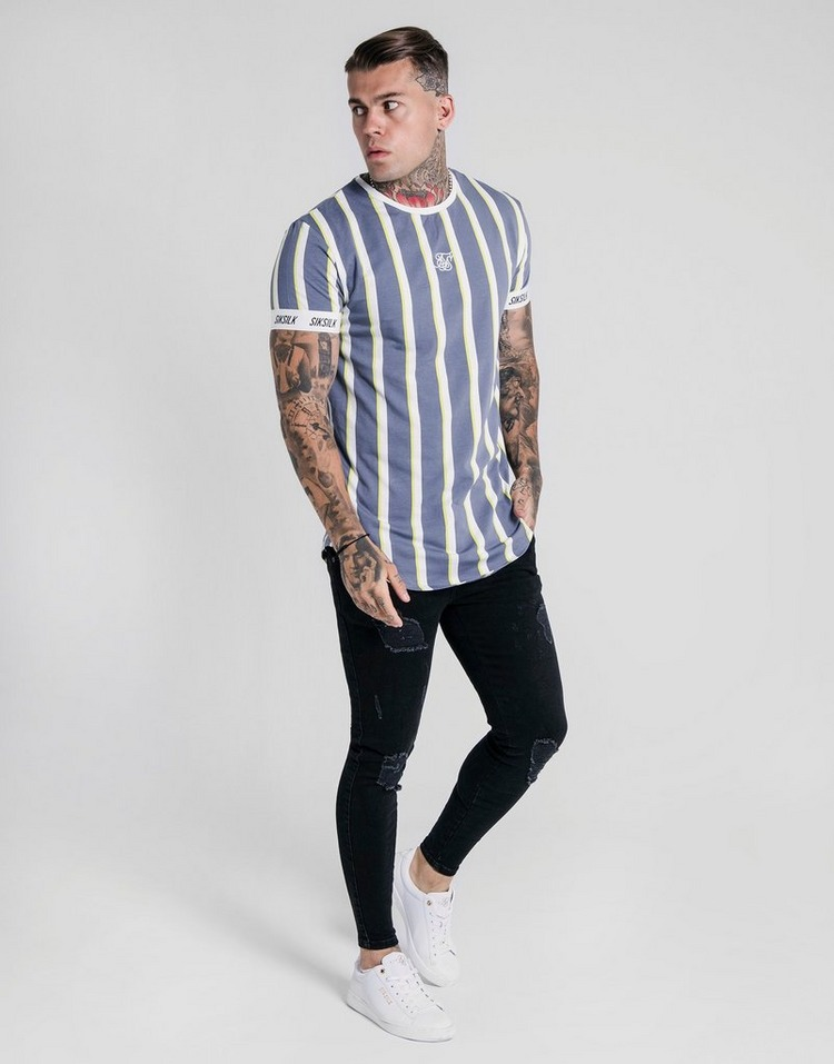 SikSilk Stripe T-Shirt