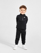 Nike Swoosh All Over Print 1/4 Zip Tracksuit