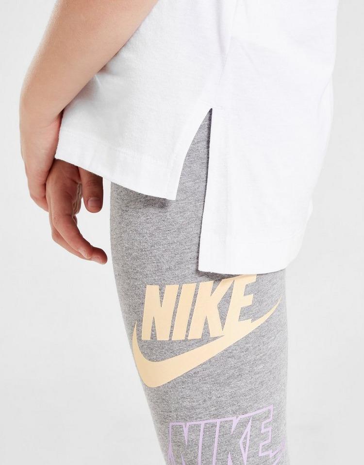 Nike Girls' Double Futura T-Shirt Børn