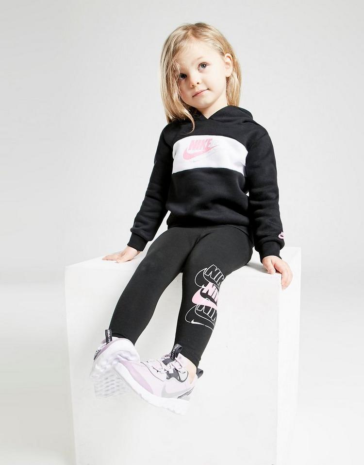 Nike Girls' Double Futura Hoodie/Leggings Set Infant