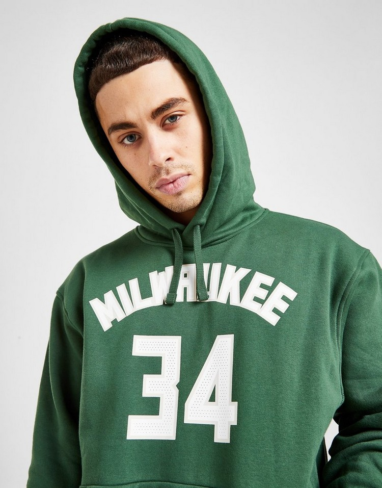 Nike NBA Milwaukee Bucks City Edition Overhead Hoodie
