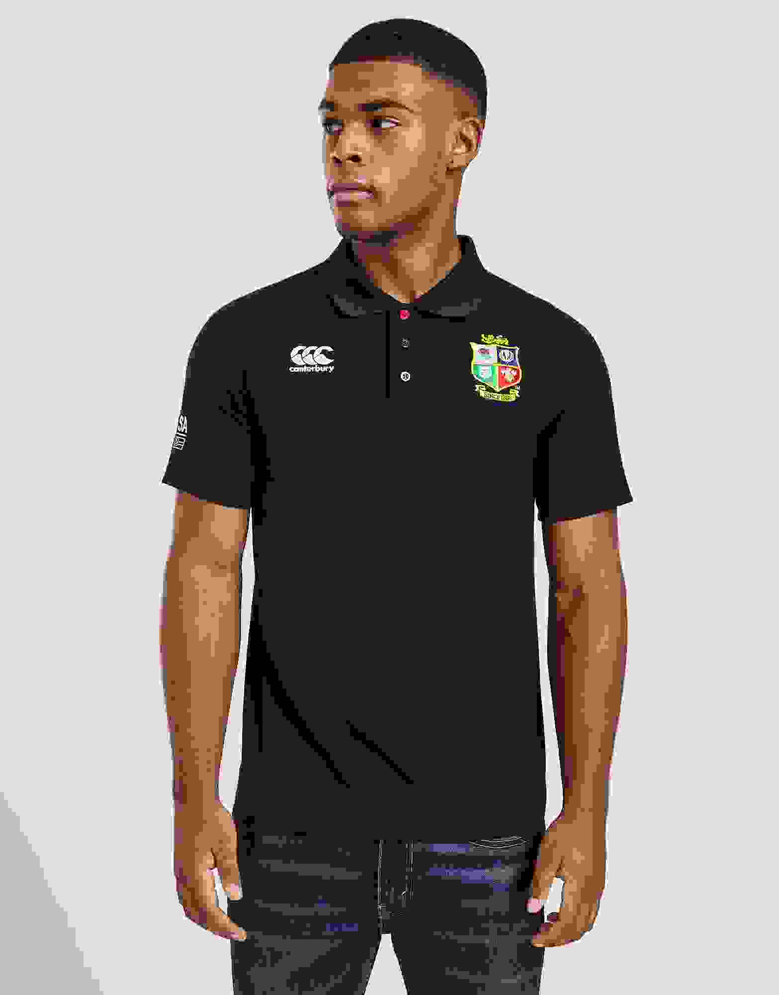 Details about  /British /& Irish Lions Mens Classic Pique Rugby Polo Shirt