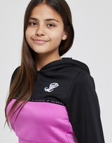 ILLUSIVE LONDON Girls' 1/4 Zip Poly Overhead Hoodie Junior