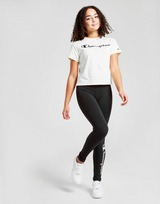 Champion Girls' Legacy Crop T-Shirt Junior