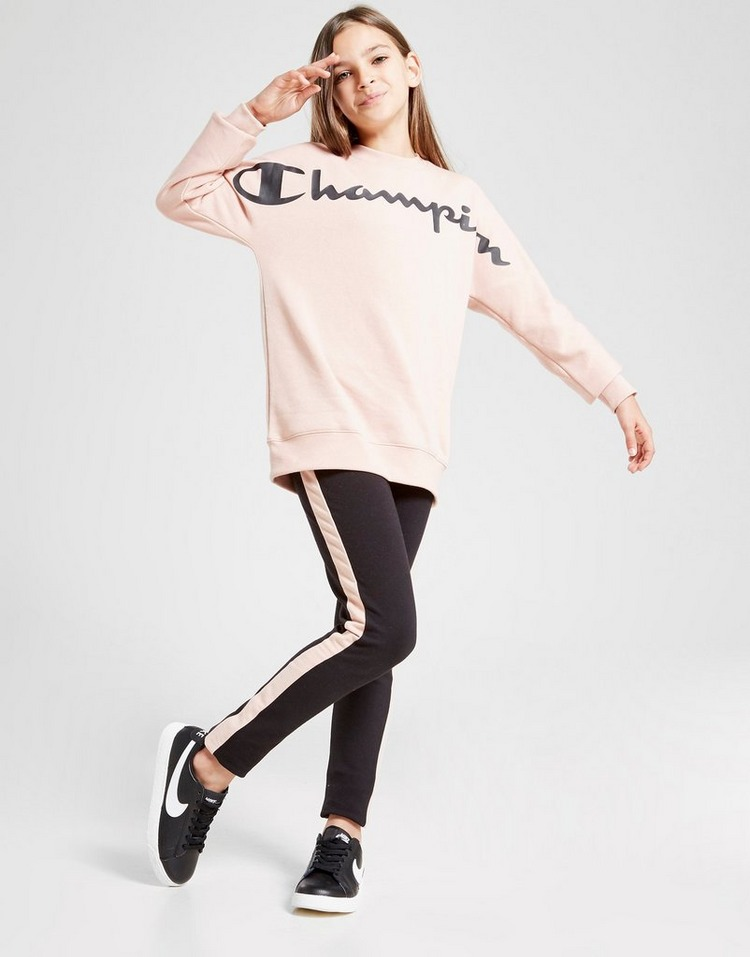 Champion Girls' Legacy Crew Sweatshirt Junior