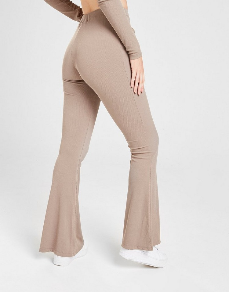 Sixth June Ribbed Flare Pants