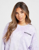 Sixth June Tie Dye Crew Sweatshirt