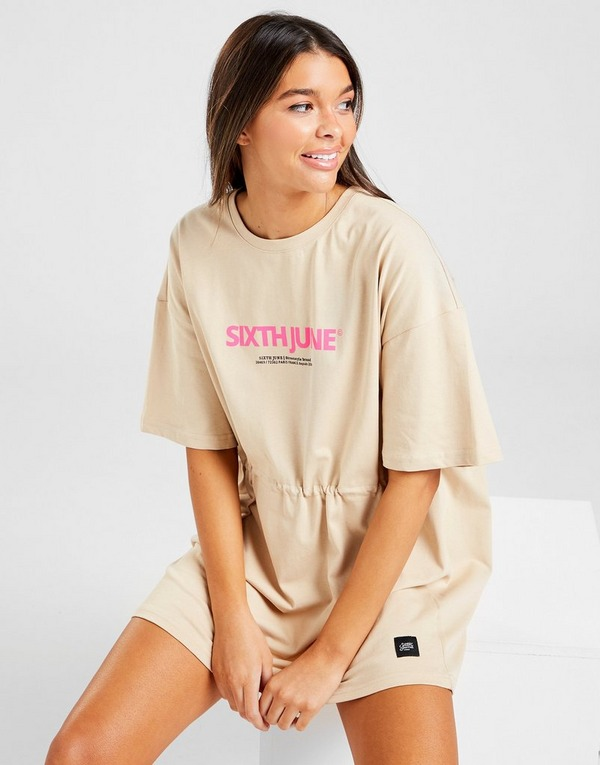 Sixth June Logo T-Shirt Dress