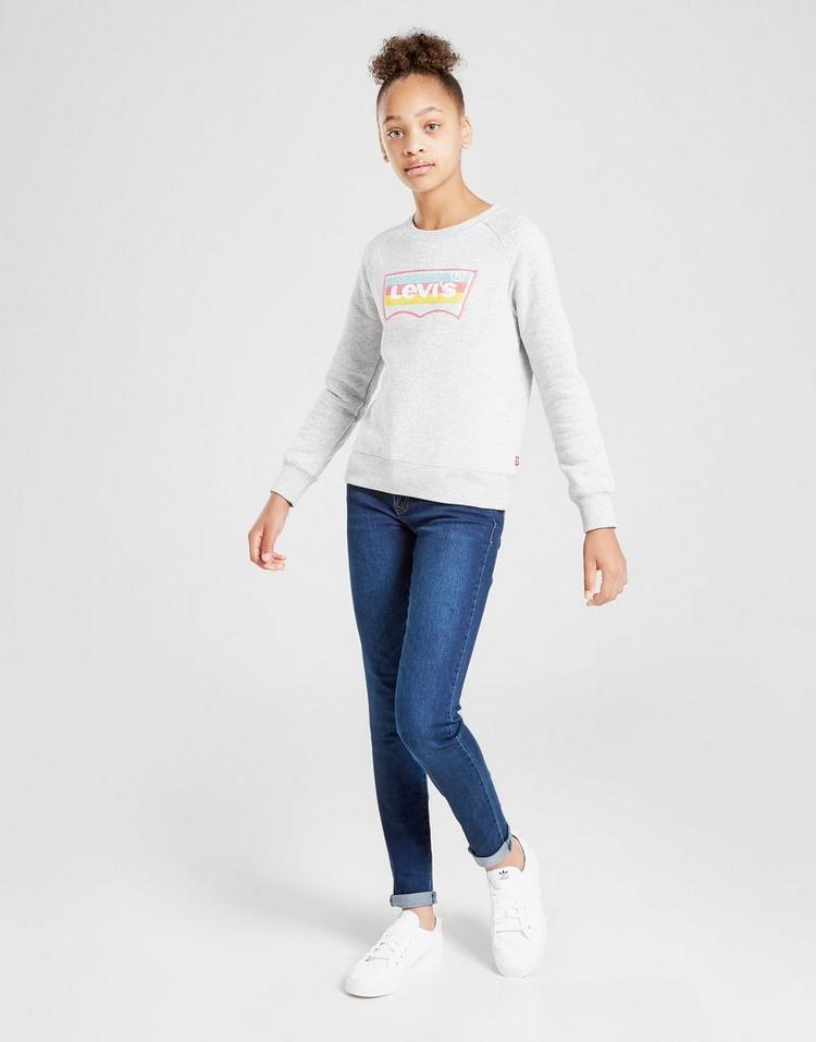 Levis Girls' Logo Crew Sweatshirt Junior