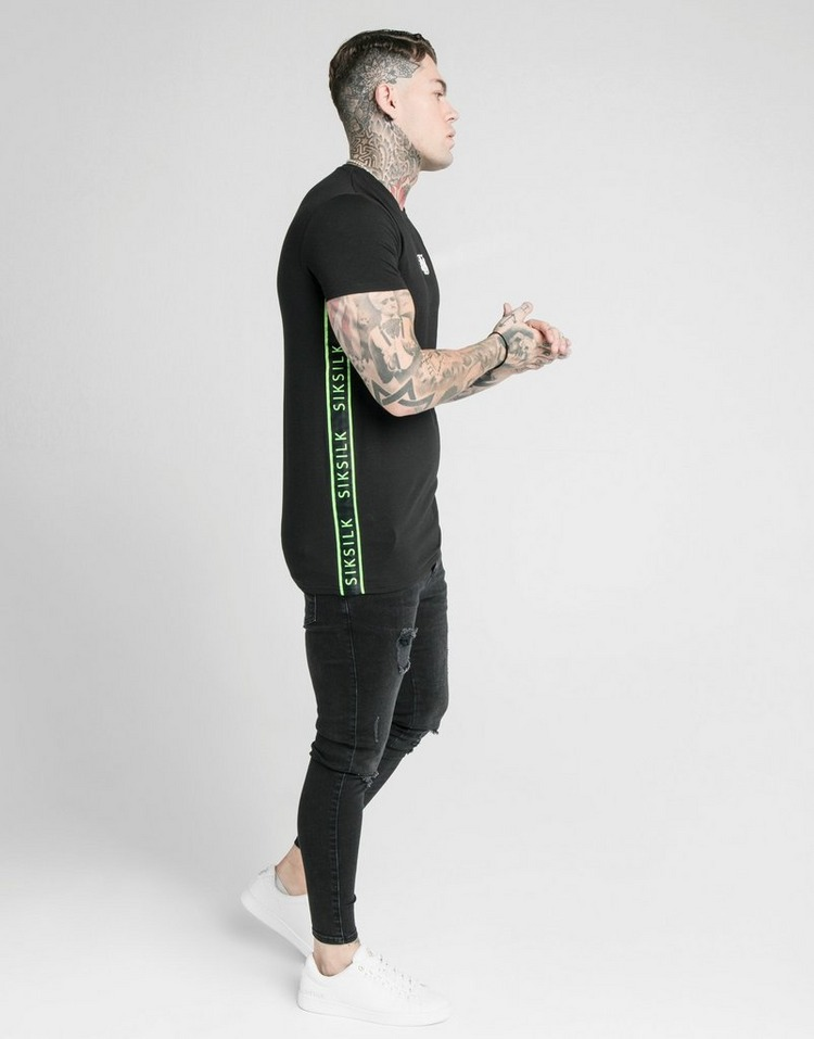 SikSilk Side Tape T-Shirt
