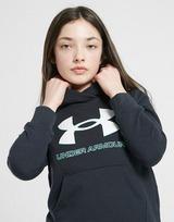 Under Armour Girls' Rival Logo Felpa con cappuccio Junior
