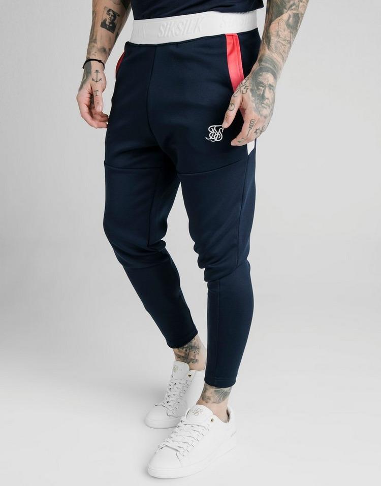 SikSilk Pantalon de Survêtement Retro Tape Homme
