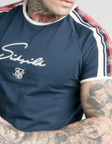 SikSilk Retro Tape T-Shirt