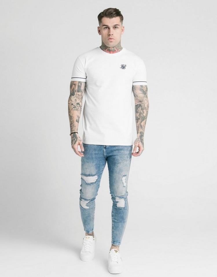 SikSilk Cuffed T-Shirt