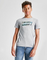 Levis Camo Batwing T-Shirt Junior