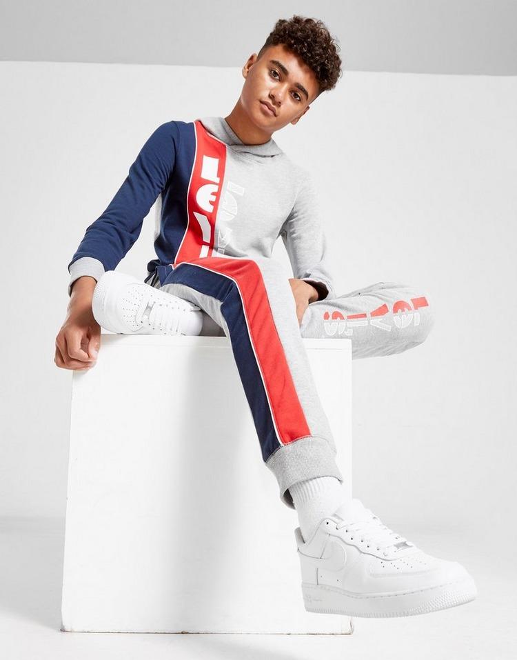 Levis Striped Hoodie Junior