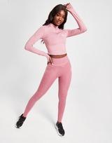 Gym King Haut de survêtement 1/4 Zip Crop Femme