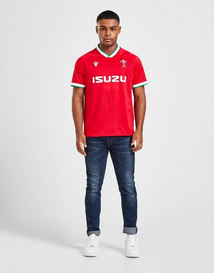 Macron Wales RU 2020/21 Replica Home Shirt