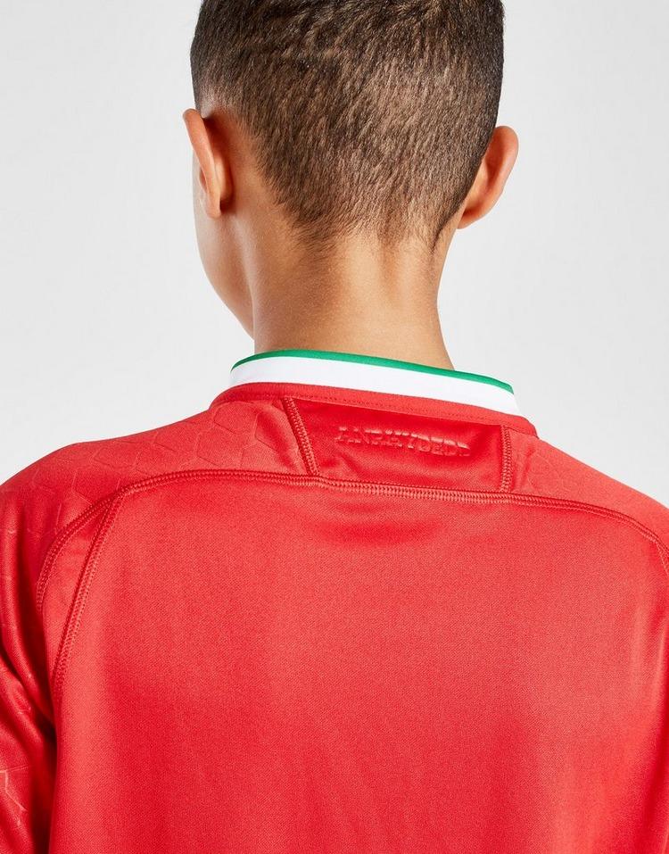 Macron Wales RU 2020/21 Home Replica Shirt Junior