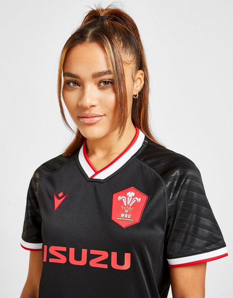Macron Wales RU 2020/21 Replica Away Shirt Women's