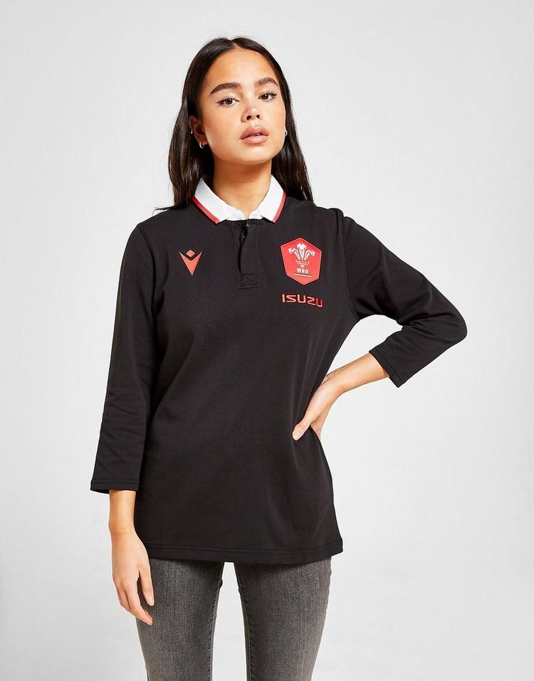 Macron Wales RU 2020/21 Cotton Away Shirt Women's