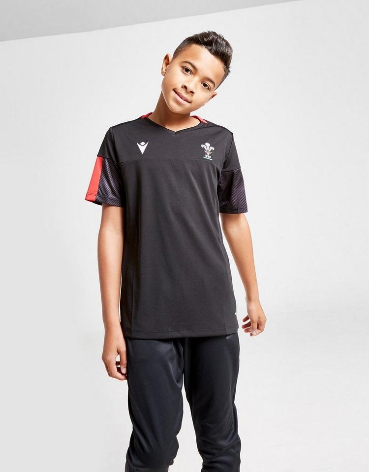 Macron Wales RU Training Shirt Junior