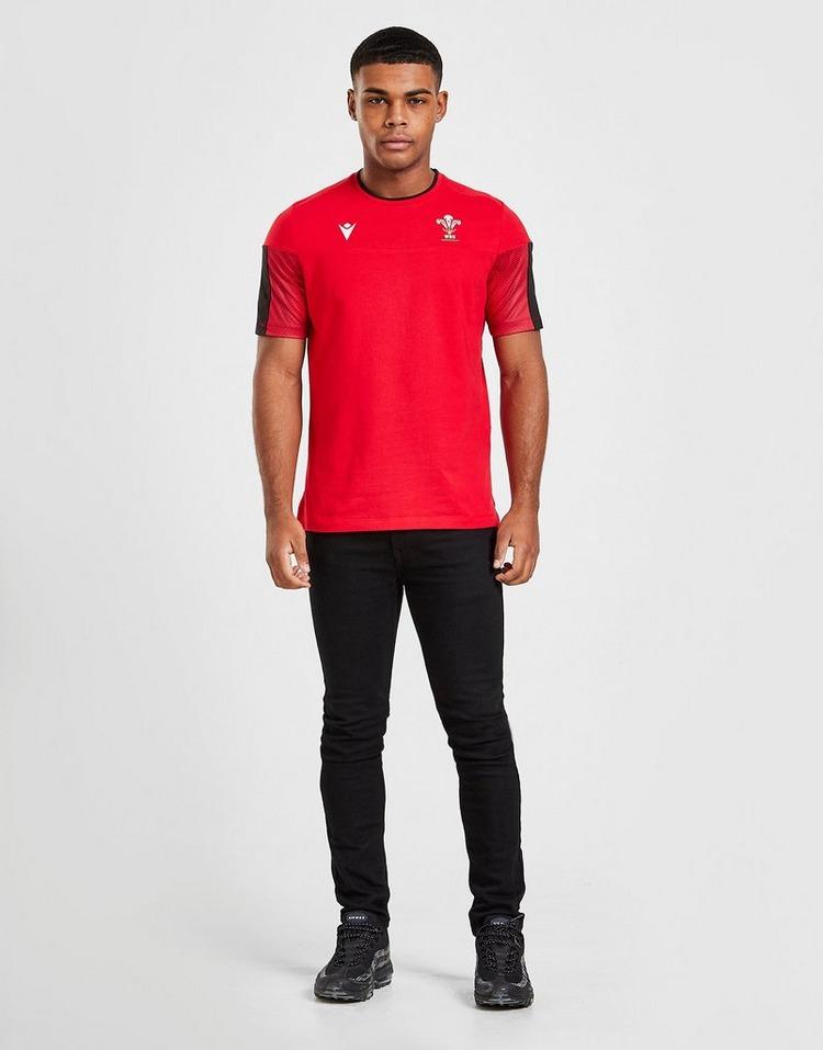 Macron Wales RU Cotton Shirt