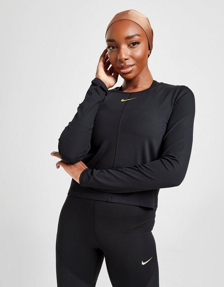 Nike Running Icon Clash Long Sleeve Top