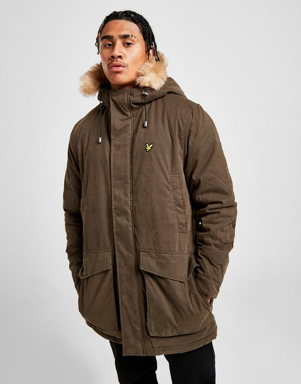 Lyle & Scott Winter Parkas Jacka Herr