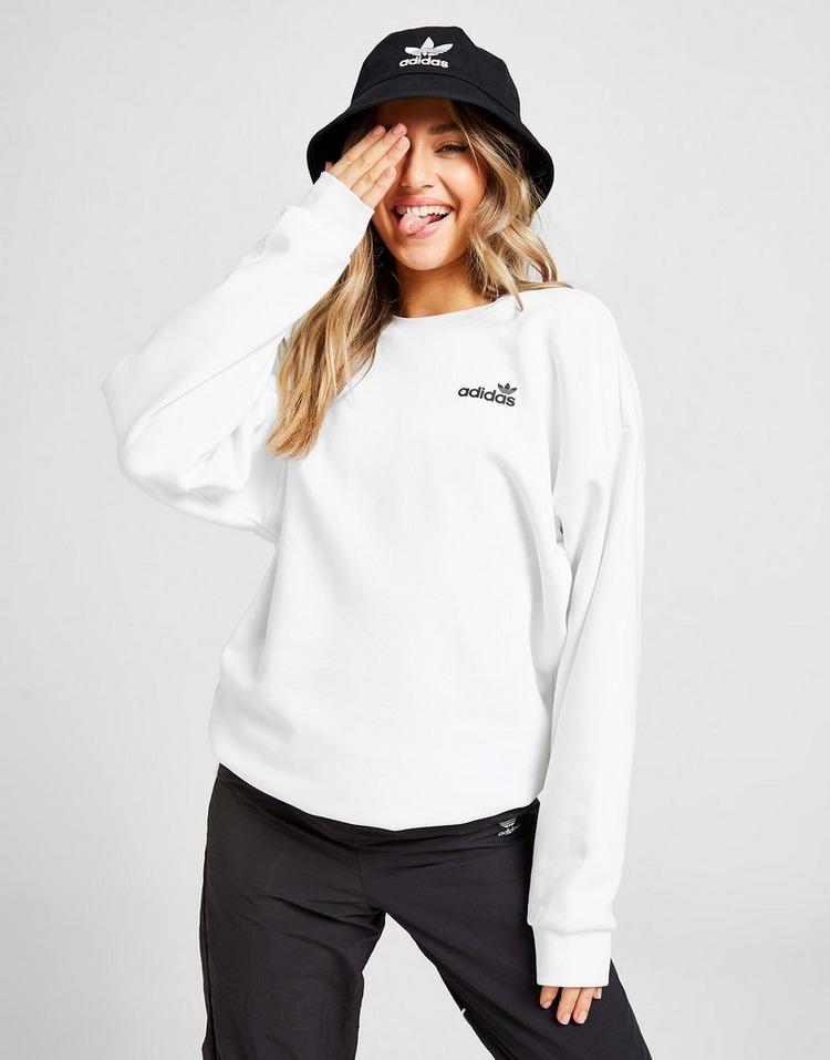 adidas Originals Linear Fleece Crew Sweatshirt