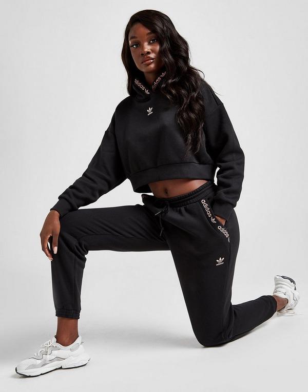 Acheter Noir adidas Originals Jogging Lurex Tape Fleece Femme