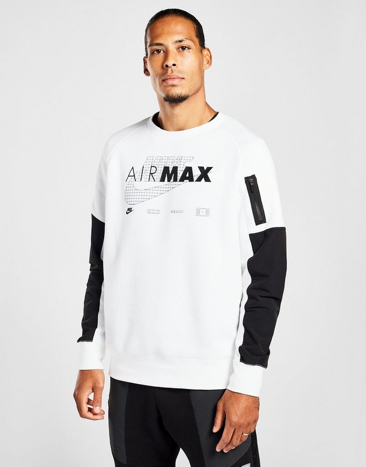 Nike Air Max Fleece Crew Sweatshirt