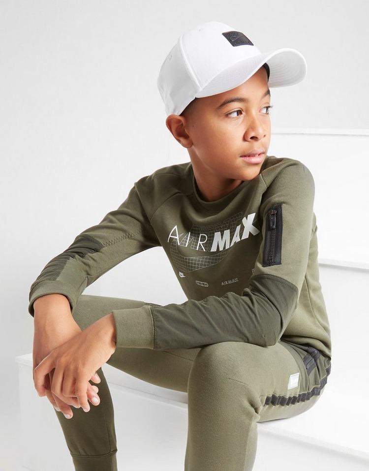 Nike Air Max Fleece Crew Sweatshirt Junior