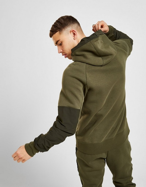 plantador Destrucción Gigante  Green Nike Air Max 1/2 Zip Fleece Hoodie | JD Sports