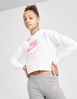 Nike Girls' Air Crop Overhead Hoodie Junior