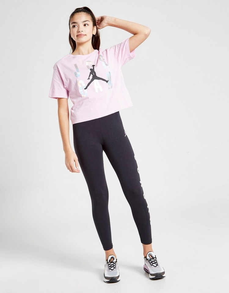 Jordan Girls' Foil T-Shirt Junior