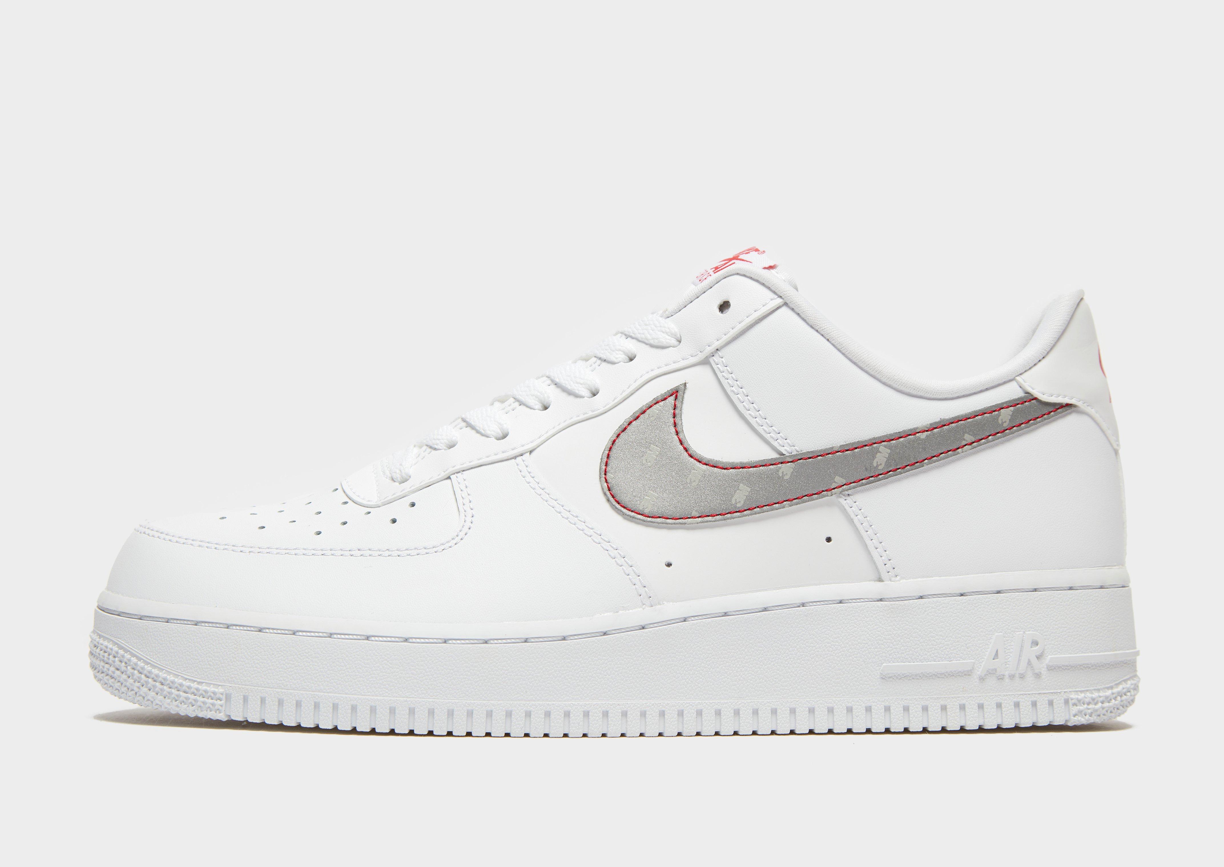 White Nike Air Force 1 '07   JD Sports