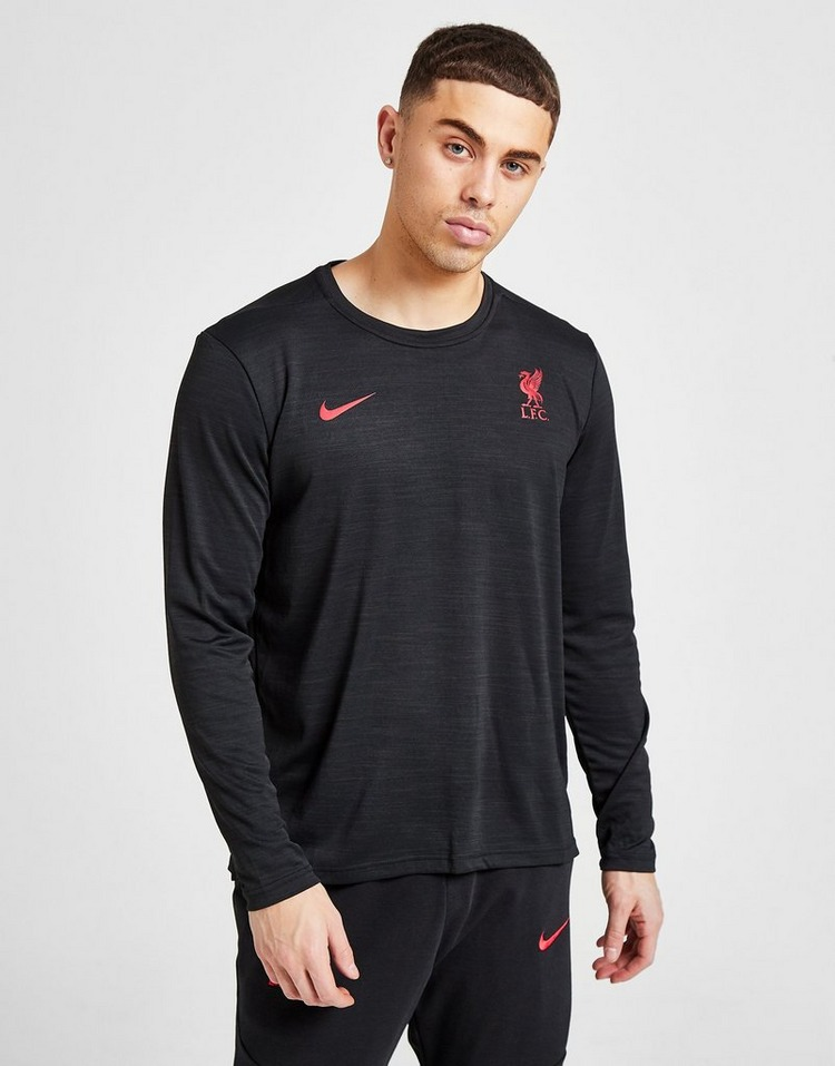 Nike Liverpool FC Long Sleeve T-Shirt Herre