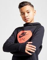 Nike Liverpool FC Fleece Overhead Hoodie Junior