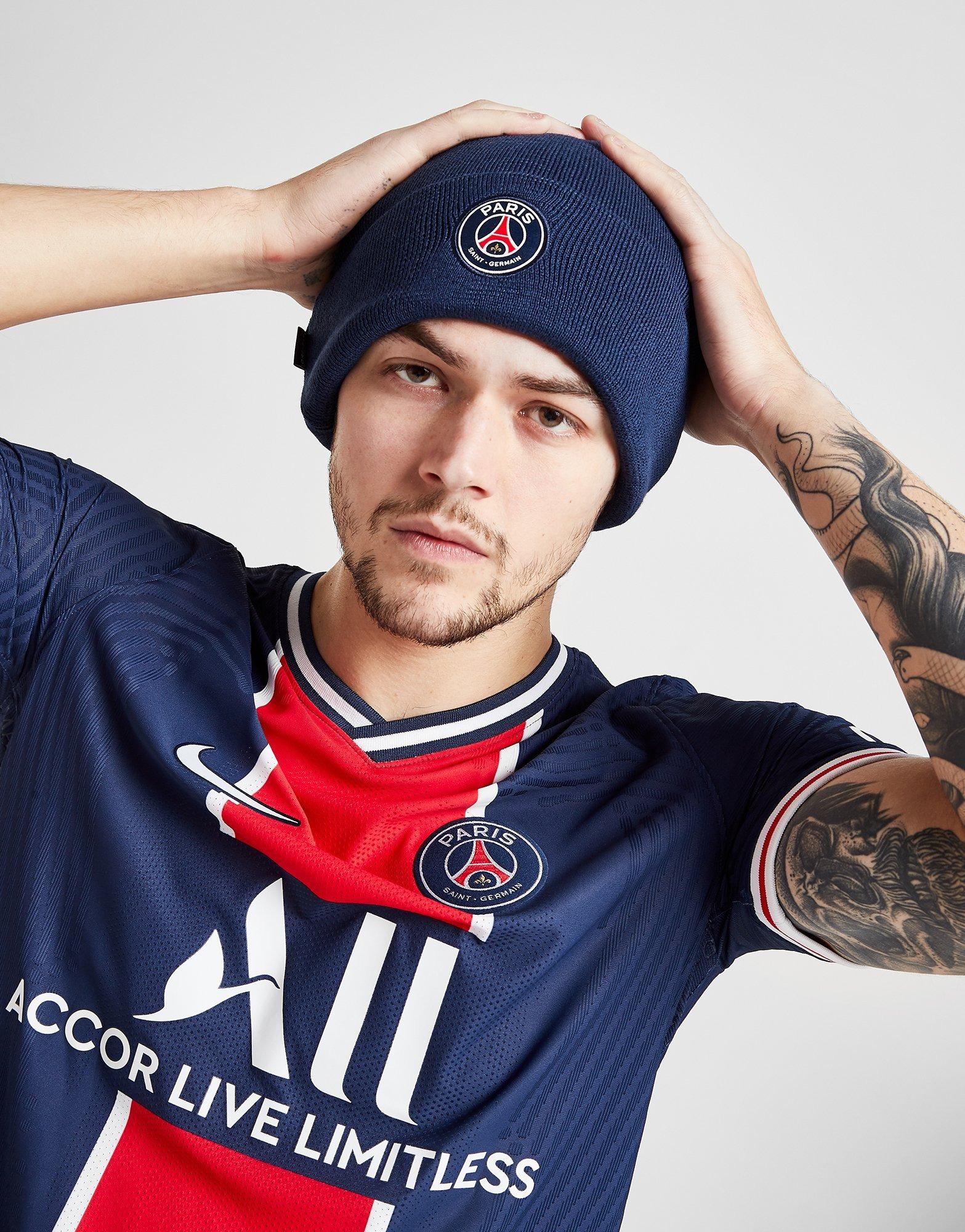 Buy Blue Nike Paris Saint Germain Beanie Hat Jd Sports