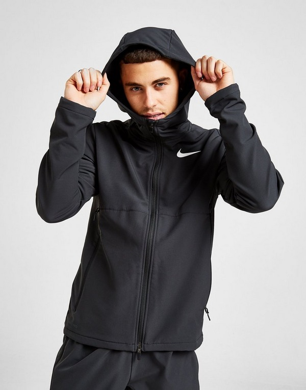 Shop den Nike Shield Sphere Full Zip Hoodie in Schwarz