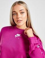 Nike Air Panel Crop Crew Sweatshirt