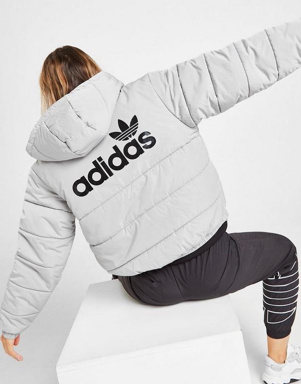 Shop den adidas Originals Linear Jacke Damen in Schwarz