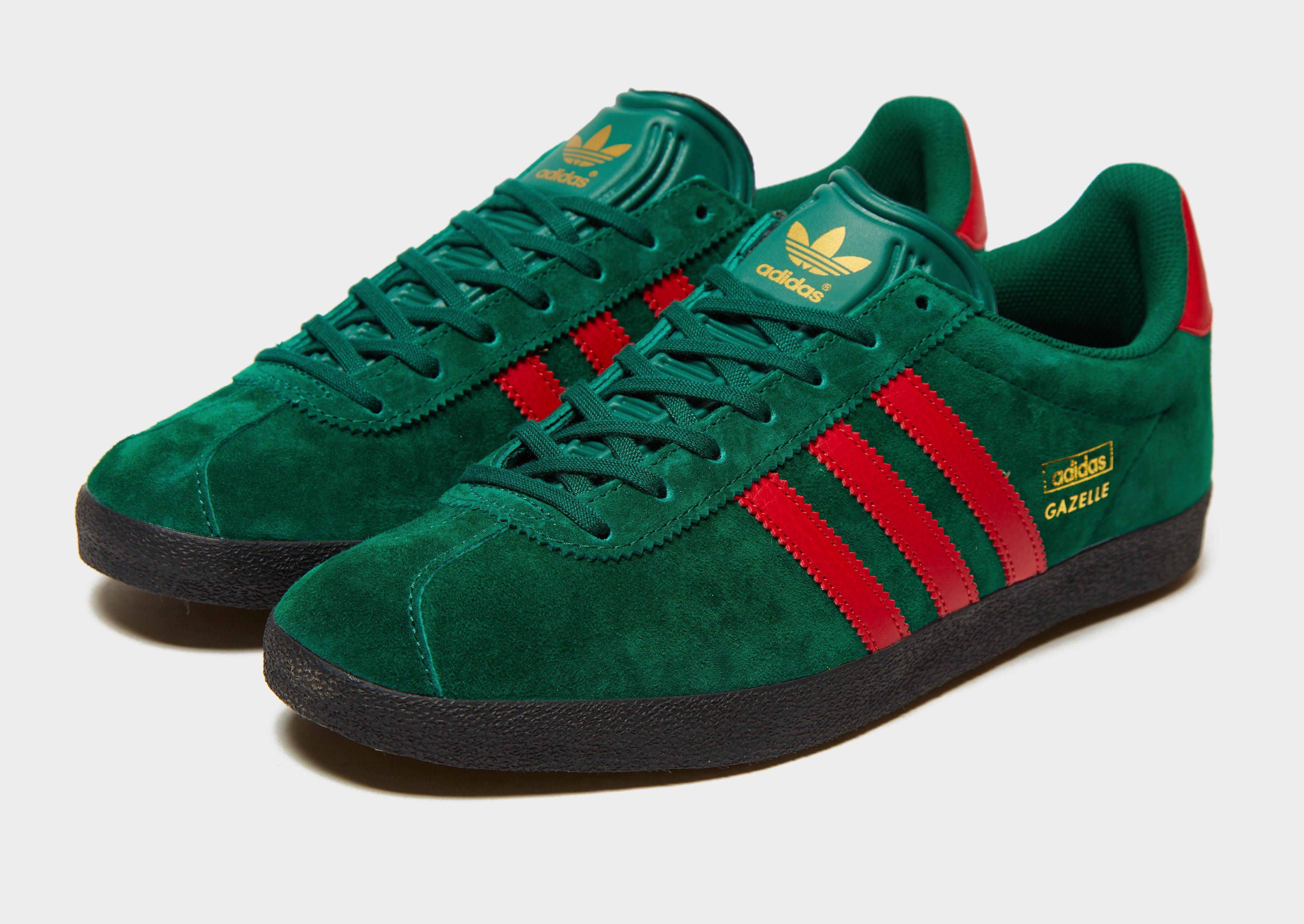 Green adidas Originals Gazelle   JD Sports
