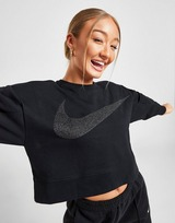 Nike Training Get Fit Fleece Sparkle Sweartshirt