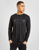 BOSS Large Logo Curve Long Sleeve T-Shirt