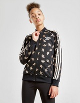 adidas Originals Girls' SS All Over Print Track Top Junior