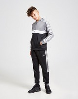 adidas 1/2 Zip Poly Hooded Tracksuit Junior