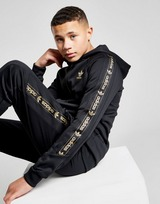 adidas Originals Tape Poly Full Zip Hoodie Junior